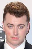 LOS ANGELES - NOV 23:  Sam Smith at the 2014 American Music Awards - Press Room at the Nokia Theater on November 23, 2014 in Los Angeles, CA