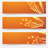 Bright Cable Bandwidth Speed Swoosh Header