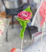 Thai desert sugar sculpt rose