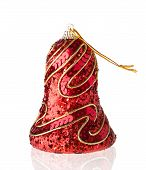 Christmas Shiny Bell Decorated With Sequins