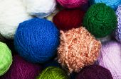 Color Woolen Clews