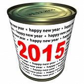 Happy new year 2015 - can