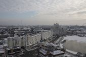 The City Of Minsk. The Capital Of The Republic Of Belarus