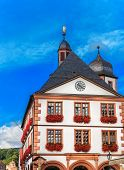 Old Town Hall in Lohr am Main, Germany