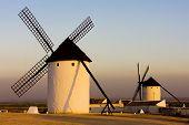 windmills Campo de Criptana Castile-La Mancha Spain