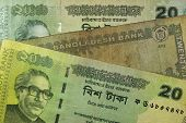 Twenty Bangladeshi taka bills, Bangladesh