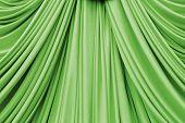 Green Curtain Texture