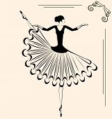 Image Of Ballet Dancer