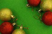 Six Christmas Balls