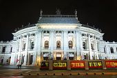 Burgtheater Building In Vienna, Austria