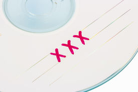 image of x-rated  - CD or DVD x - JPG