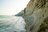 picture of sidari  - Beautiful view of the beach early in the morning - JPG