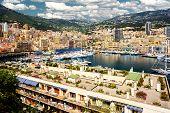 picture of hercules  - Port Hercules in the principality of Monaco - JPG
