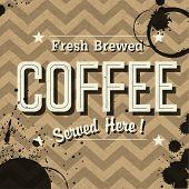 image of brew  - Vintage Coffee Poster - JPG