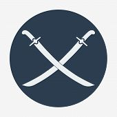 pic of longsword  - Pirate theme icon - JPG