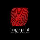 stock photo of fingerprint  - Fingerprint  - JPG