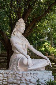 picture of shiva  - Shiva statue in Rishikesh India - JPG