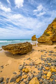 picture of inlet  - Spectacular Step Beach in Eagle Point Marine Sanctuary - JPG