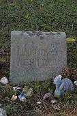 A Child'S Grave Stone