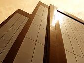 Sun Tinted Building poster