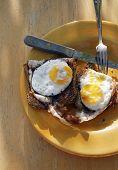 Homemade Organic Sunnyside Up Eggs