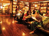 readers in a Taipei bookstore