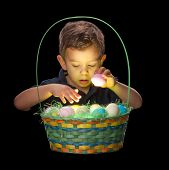 Glowing Easter Basket