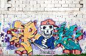 Colorful Graffiti, Rosario, Argentina