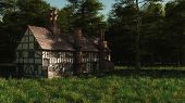 Abandoned English Manor House