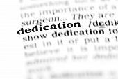 Dedication (the Dictionary Project)