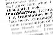 Translation (the Dictionary Project)