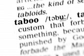 Taboo (the Dictionary Project)