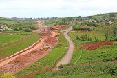 New Road Bypass  Construction Site South Devon Highway poster