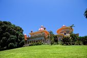 Palace of Monserrate in the village of Sintra, Lisbon, Portugal