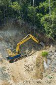 foto of oversize load  - Forest Destruction in the name of development - JPG