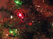Christmas Tree Lights & Garland