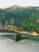 Island Within A Lake