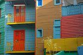 Colorful Homes In La Boca - Buenos Aires