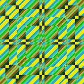 nahtlose retro geometrisches Muster