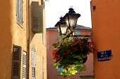 Street of Grasse, France