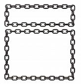 Metal Chains Frame