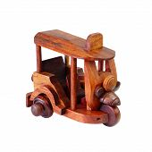 Tuktuk Tricycle by wood carve