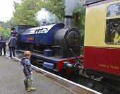 A Shot Of The Princess Steam Train