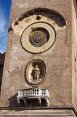 Mantova - Clock Tower - Italy