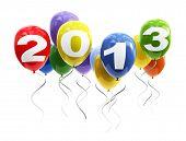 3d balloons 2013