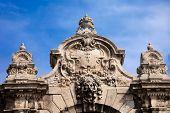 Habsburg Gate Details In Budapest
