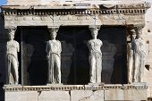 The Caryatids Or Porch Of The Maidens