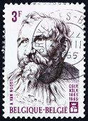 Postage stamp Belgium 1965 Adam van Noort, Flemish Painter