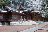 Sakurayama Hachimangu Shrine, Hida - Takayama in winter