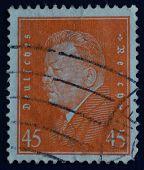 German postage stamp Friedrich Ebert